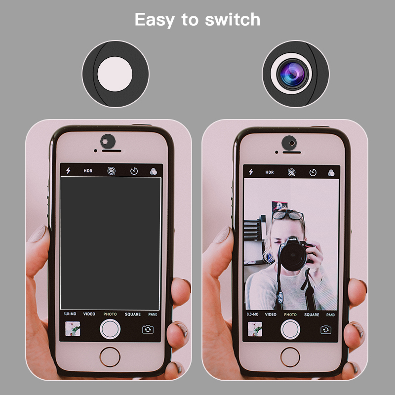 Webcam Cover Laptop Custom Logo Webcam Privacy Camera Cover for iPhone Android Smartphone Factory Wholesale Price