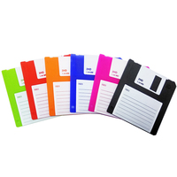 Wholesale Coasters Drink Coasters Silicone Floppy disk black silicone coaster