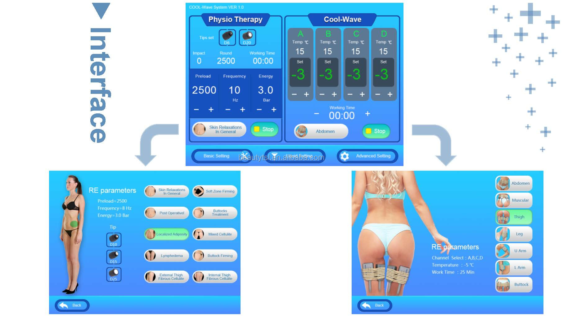 sw10f cool wave plus 12 LINGMEI Cool wave plus shock wave therapy cryo treatment 2in1 pneumatic shockwave device.jpg