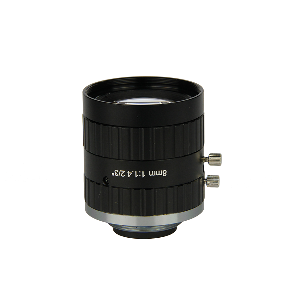 "FG-FA0801C 1/1.8""5MP machine vision camera lens inspect product for industry"