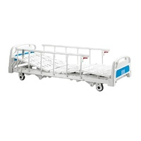 Modern medical equipments routine dimensions hospital bed three functions hospital adjustable super low bed