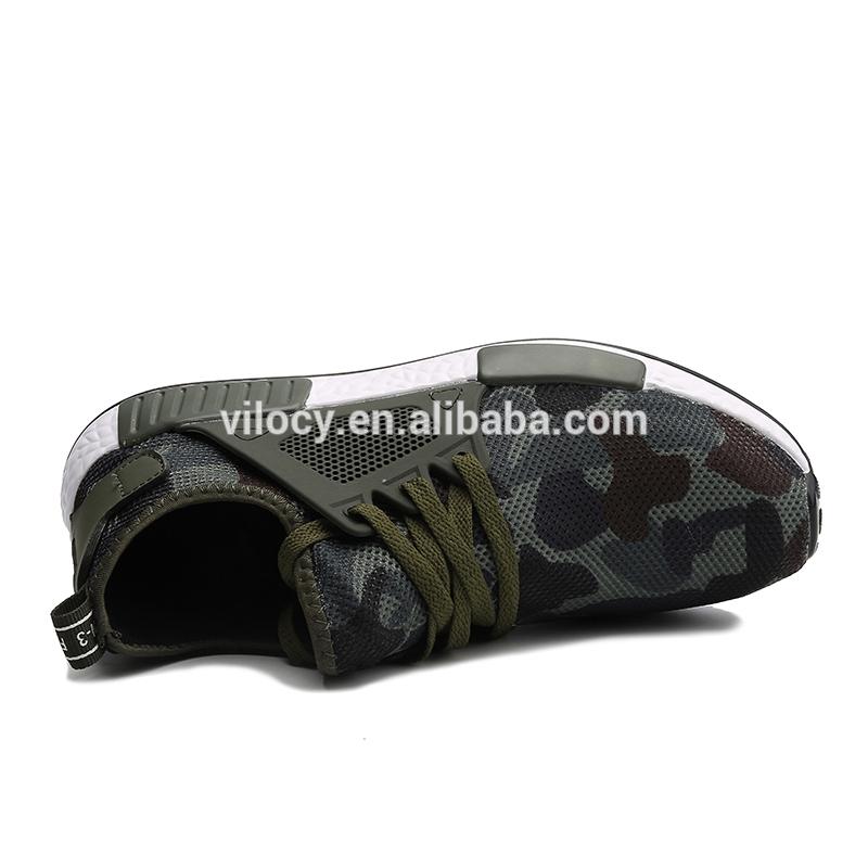 Confortevole Pianura Elegante Tessuto di Maglia Traspirante Mens Scarpe da Corsa di Sport Lace-Up Scarpe