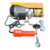 ISO9001 PA200kg mini hoist with CE certificate