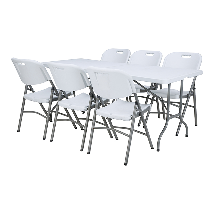 6ft popular fold in half long table for meeting
