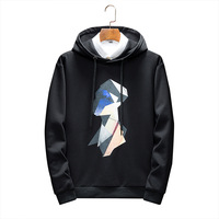 Wholesale customization spring new sweatshirts men high quality brand fashion printing simple mens hoodies