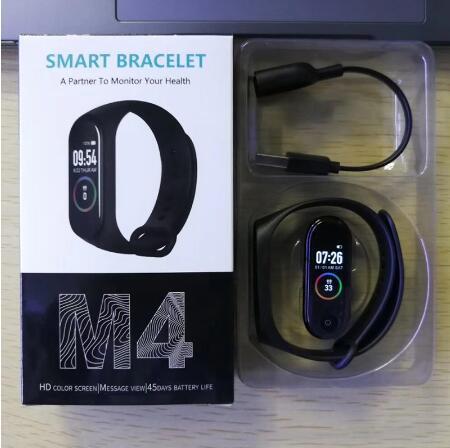 Izle M4 spor izci bant M4 akıllı saat cep telefonu