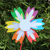 Oem Buy Pinwheels 7 Leaves Kids Plastic Garden Windmill For Party Decoration