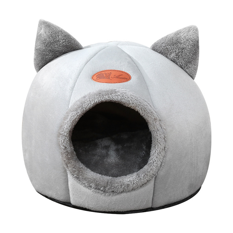 Winter Warm Removable Pet Nest Cats Dogs Sleep In Winter Bed