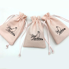 Synthetic Small Pink Jewelry Leather Pouch