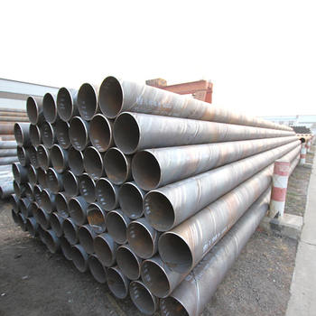 API 5L x60 x70 ssaw spiral carbon steel pipe / ASTM A252 spiral welded steel pipe steel piles