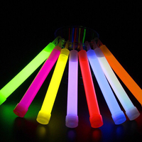 30pcs 6inch Glow Stick multicolor Chemical light stick Camping Emergency decoration Party clubs glow in the dark sticks