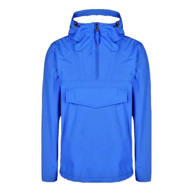 Lightweight Waterproof Style Outdoor Windbreaker Men's Pullover Running Jacket