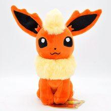 22 см POKEMON плюшевые игрушки Glaceon Leafeon Umbreon Espeon Jolteon vaporion Flareon Evee Sylveon Pocket Monster Pikachu Poke Gift(Китай)