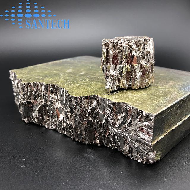 Buy High Purity Bismuth Bi ingot for refrigerating elements Crystal