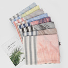 New Scarf Hijab Wholesale New Fashion Striped Printed Cotton And Linen Shawl Scarf Muslim Hijab