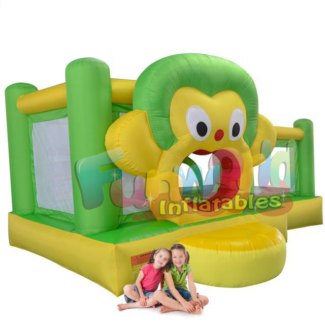 Commercial Inflatable Jumping Bouncy Castles With Cartoon