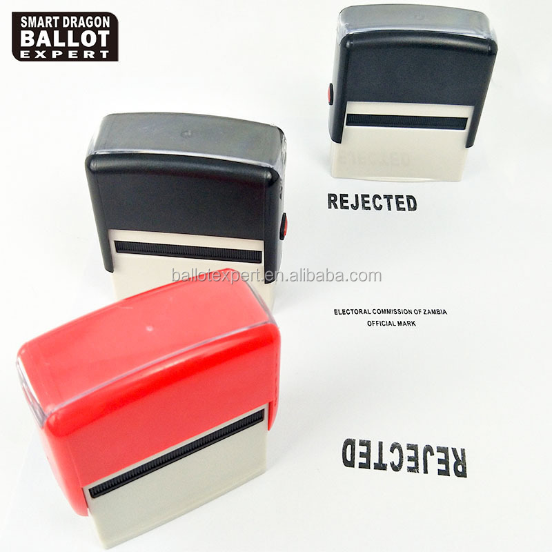 Customized Voting For Office Seal Materials For Zambian Elections