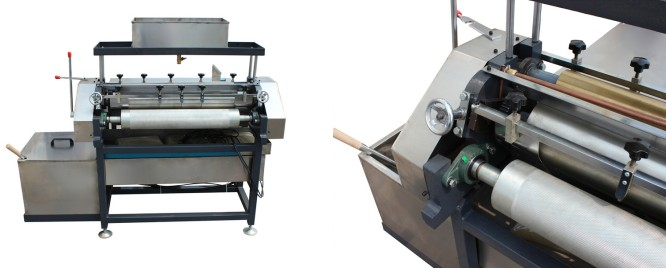 JS-650F Halbautomatische Klebemaschine