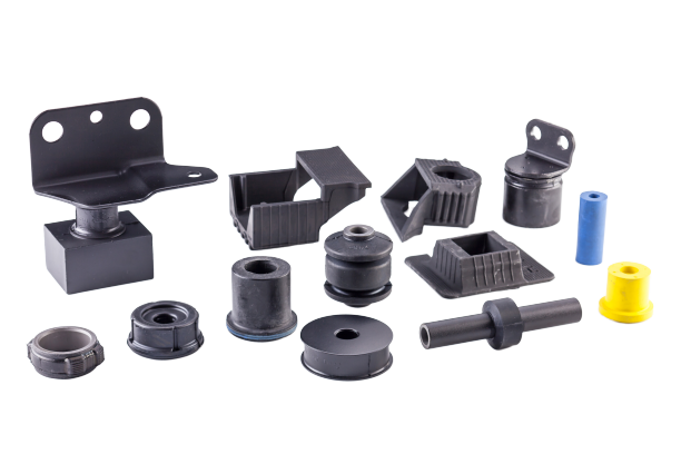 Custom-made Anti-vibration rubber parts. Made in Japan