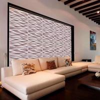 PVC 3D Ceiling Commercial Decorative laminated ghana plastic Wall Panel
