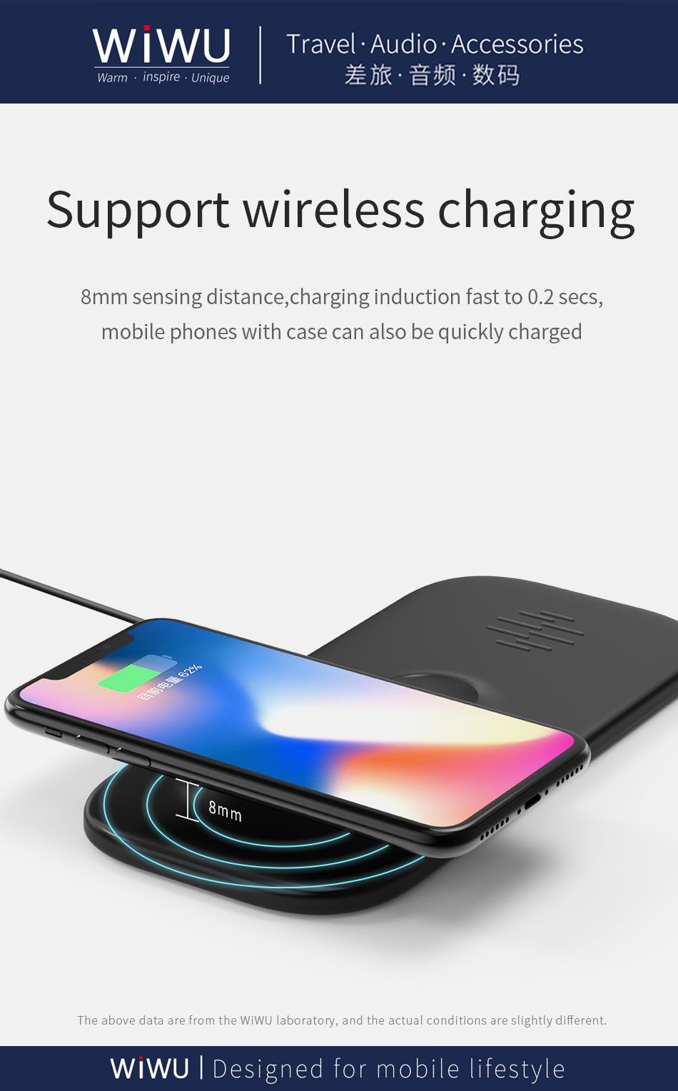 WIWU M2 二合一 无线充电器 (https://www.wiwu.net.cn/) 无线充电器 第10张