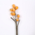 Beautiful 66cm yellow plastic artificial loquat fruit branches for the living room