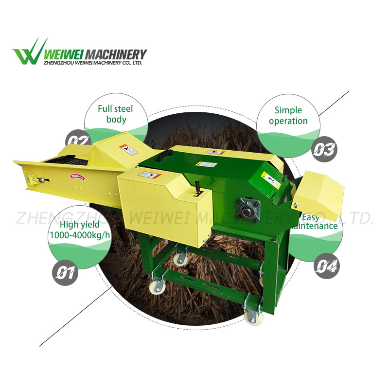 Weiwei agriculture chaff cutter cutting-grass-machines
