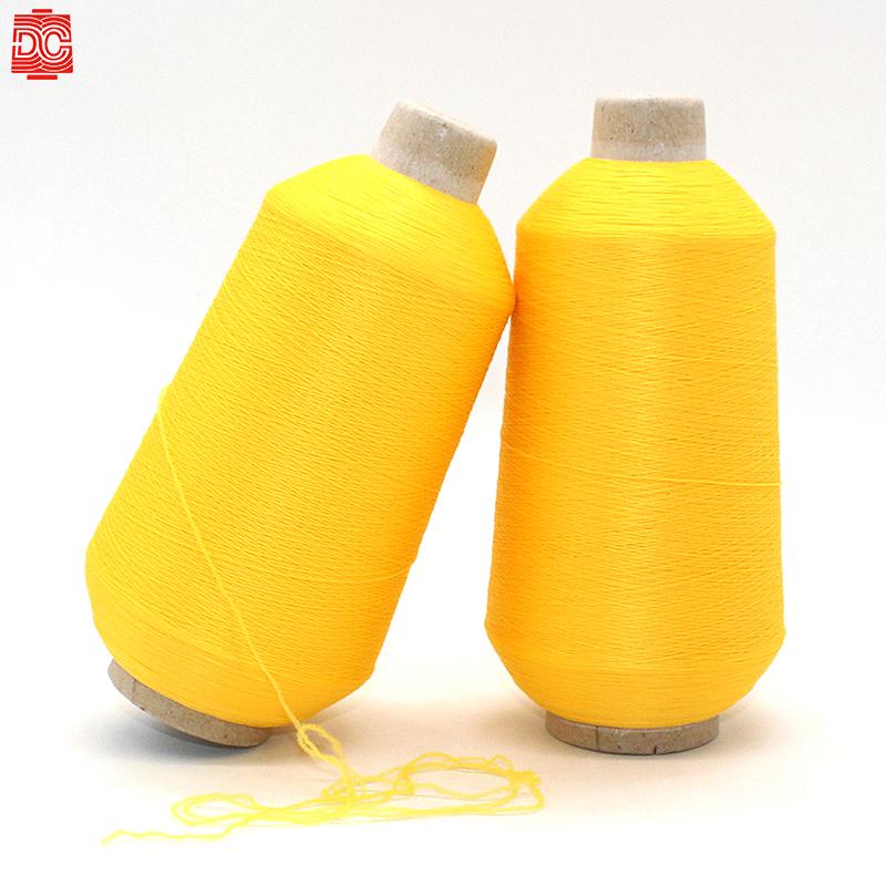 High tenacity  kota  66 filament nylon stretch covered spandex   multifilament yarn 100% 500D texture aty nylon elastane yarn