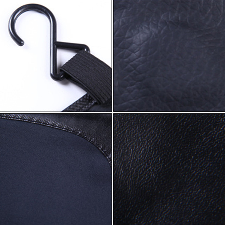 3Pcs Car Repair Fender Protection Pad Washed Leather Auto Repair Maintenance Anti-scratch Dirt-proof Protective Mat