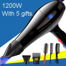 DMWD электрический фен с мотором переменного тока для горячего и холодного ветра, Профессиональные парикмахерские инструменты для укладки в...(China)