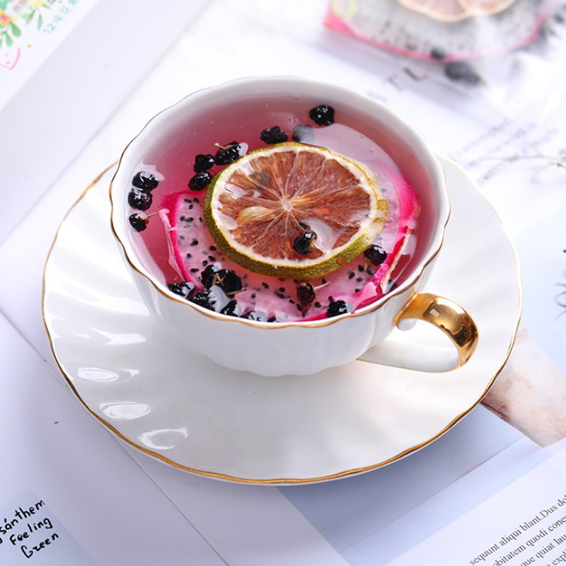 High Quality Fruit Tea White Dragon Fruit Lemon and Black Wolfberry Tea Bag - 4uTea | 4uTea.com