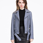 custom fashion casual ladies pakistan leather jacket for women