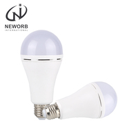 NEWORB High luminous electrostatic charging touch induction lamp hand touch ac dc emergency led bulb