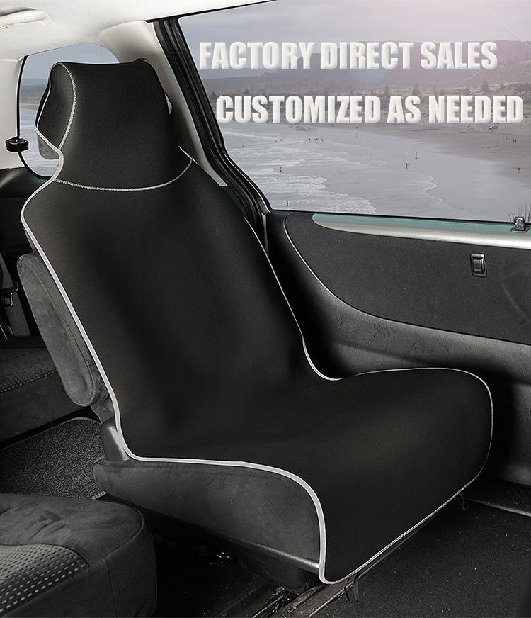 Elegante diseño de camuflaje reutilizable de neopreno resistente al agua cubierta de asiento de coche