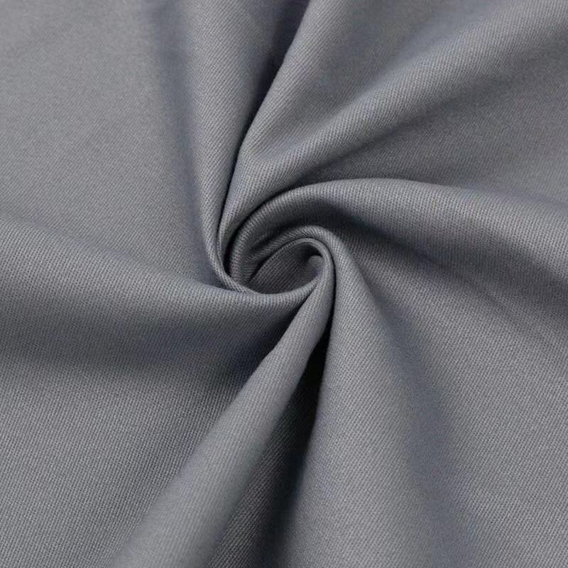 240gsm Woven 100% Cotton Twill Khaki Fabric For Chino Pants