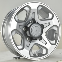 16x7.0J 5X150 OEM 4x4 offroad chrome car wheels with JWL/VIA