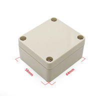 szomk 30*60*65mm plastic waterproof enclosure abs terminal box adapter junction case type dust proof outer shell