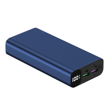 Soslpai Promosi Mini <span class=keywords><strong>Power</strong></span> <span class=keywords><strong>Bank</strong></span> 20000 MAh Portable Aluminium Alloy Kain 12 V Max Pengisian Cepat Super Kapasitor <span class=keywords><strong>Power</strong></span> <span class=keywords><strong>Bank</strong></span>