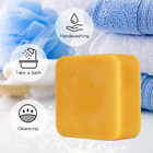 Soap Wholesale Private Label Natural Organic Pyary Turmeric Herbal Soap For Skin Whitening