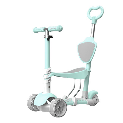 2019 newest  kick scooter kids fashion 3 in 1 functions bike, baby sitter ,baby walker scooter
