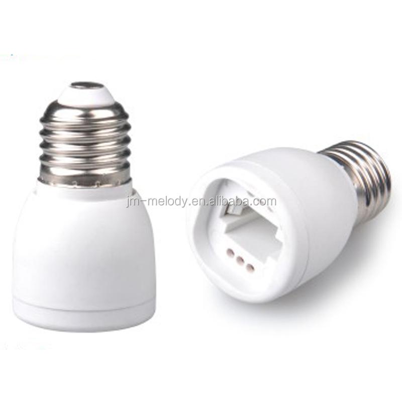 E17 a E27//E26 Convertidor Adaptador De Enchufe Base Soporte para LED Lámpara Bombilla