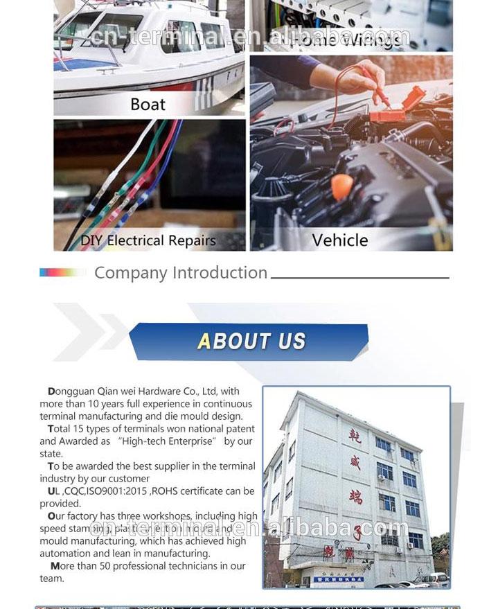 Commercio all'ingrosso di personalizzazione di auto di saldatura filo connettori