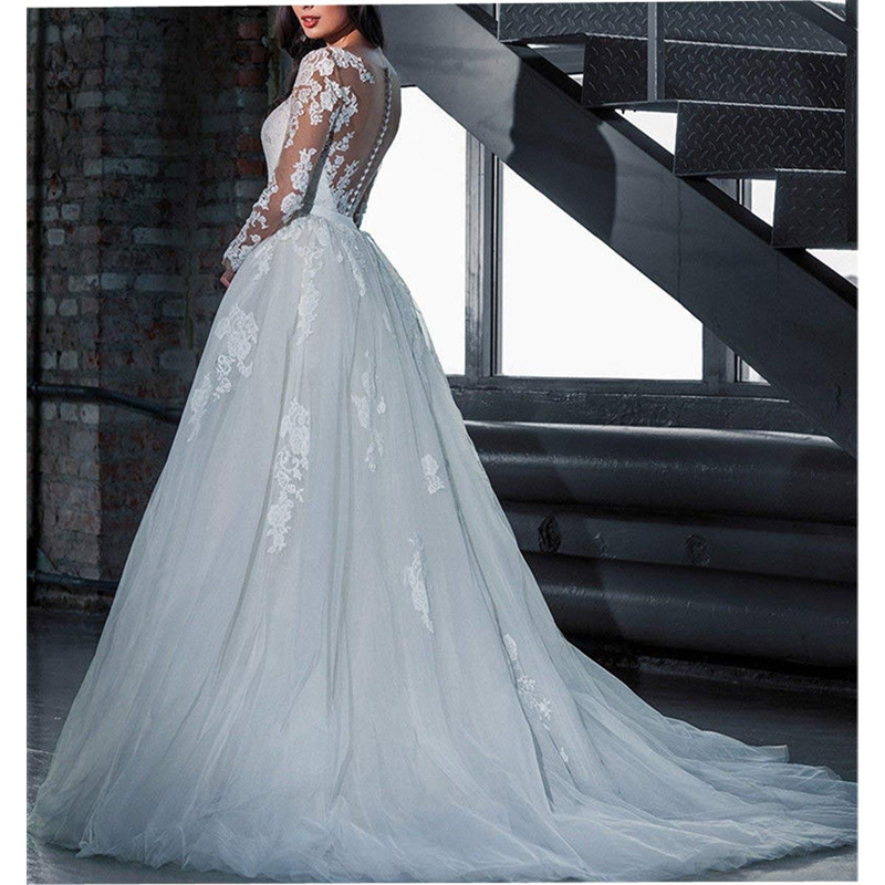 Luxury Lace Long Sleeves Sweetheart Mermaid Wedding Dresses With Detachable Train Buy Wedding Dresses With Detachable Train Luxury Wedding Dress Lace Convertible Wedding Dress Product On Alibaba Com