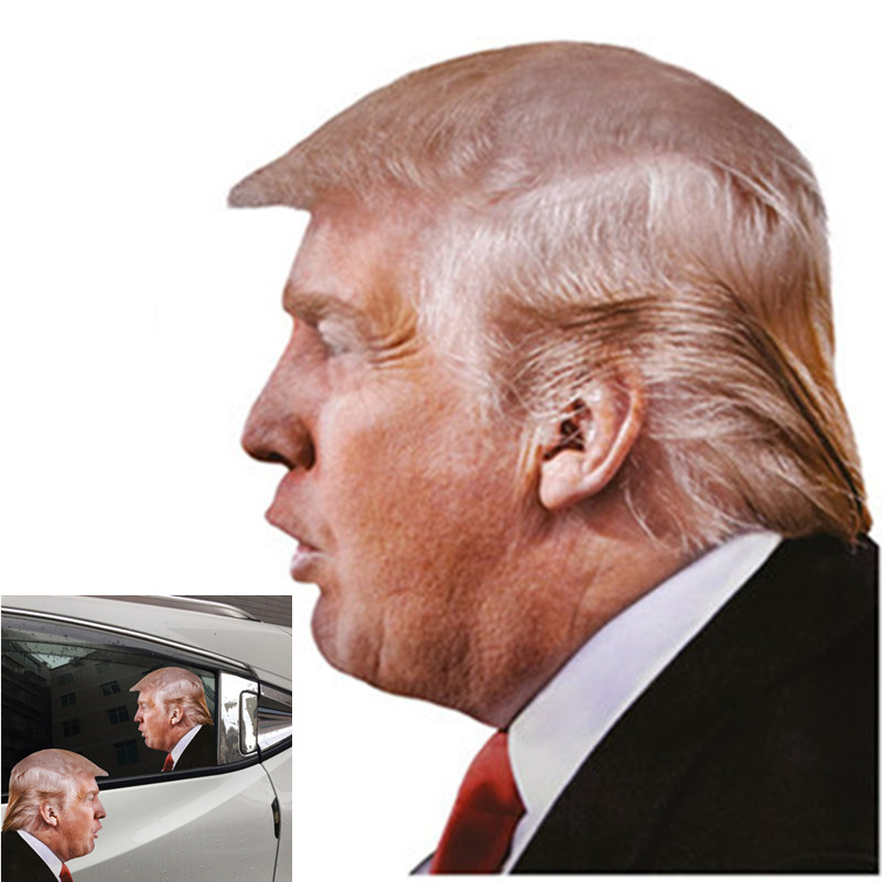 E1538 <strong>Hot</strong> Sale <strong>Car</strong> Window Real Person PVC <strong>Sticker</strong> Donald Trump 2020 <strong>Car</strong> <strong>Sticker</strong> President Election Biden Trump 3D <strong>Car</strong> <strong>Stickers</strong>
