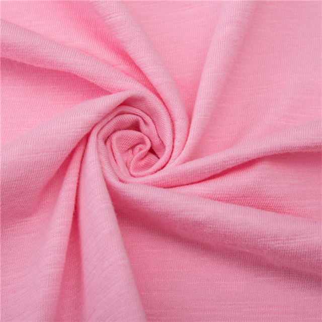 Wholesale single jersey fabric for summer garment T shirt fabric 100% cotton