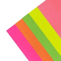 HC wholesale factory high quality Fluorescence neon Color Origami craft A4 color Paper
