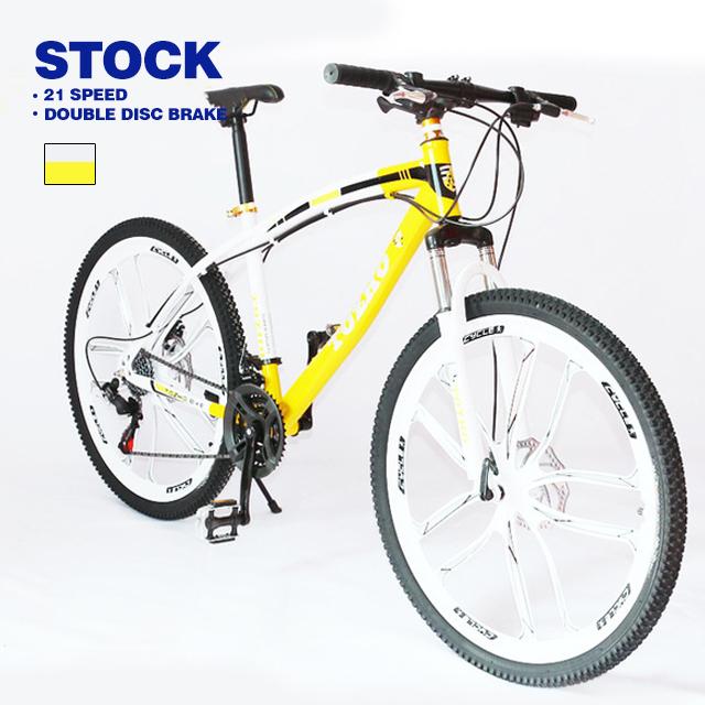 공장 공급 MTB 21 24 27 속도 접이식 자전거 26 인치 산악 자전거 높은 탄소강 자전거 남자