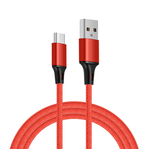 Nylon Braided Universal Mobile Cell Phone Cables Fast Charging USB to Type C Charger Cable