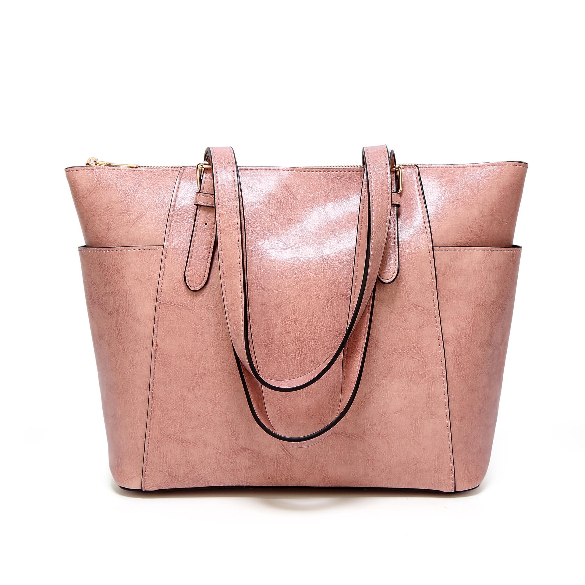Кожаные вместительные сумки, роскошные сумки, женские сумки, дизайнерские сумки, высокое качество, сумки через плечо для женщин, сумка на пл...(Китай)