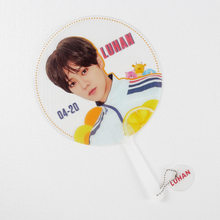 Прозрачный вентилятор Kpop TXT SuperM GOT7 ITZY GD Lee MinHo Stray Kids Lu Han Wang Yibo Xiao Zhan, подарок для фанатов из ПВХ(China)